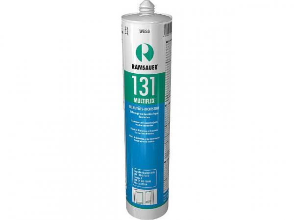 RAMSAUER 1210303 Geruchsneutraler 131 Silikondichtstoff, schwarz, 310 ml