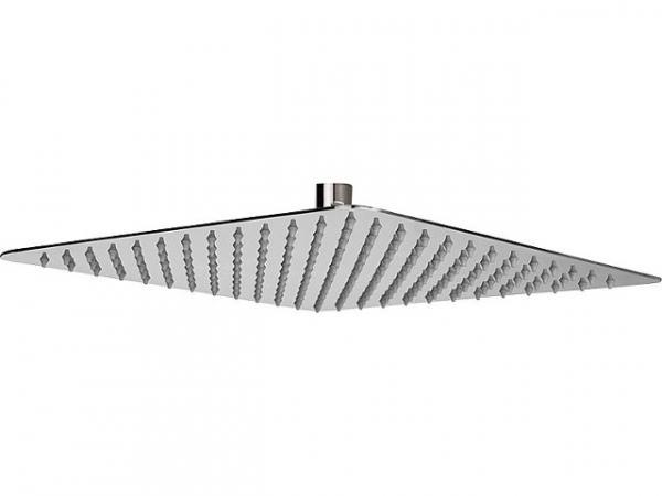 Kopfbrause Rumba, Edelstahl gebürstet, eckig, 300x300 mm