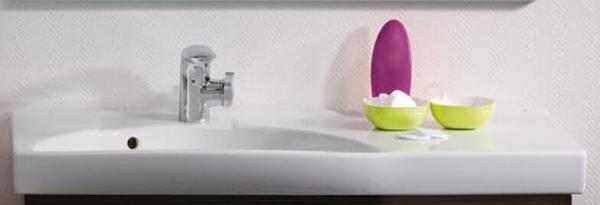 LANZET 7100812 K3 Keramik-Waschtisch 92/7/42 links weiß