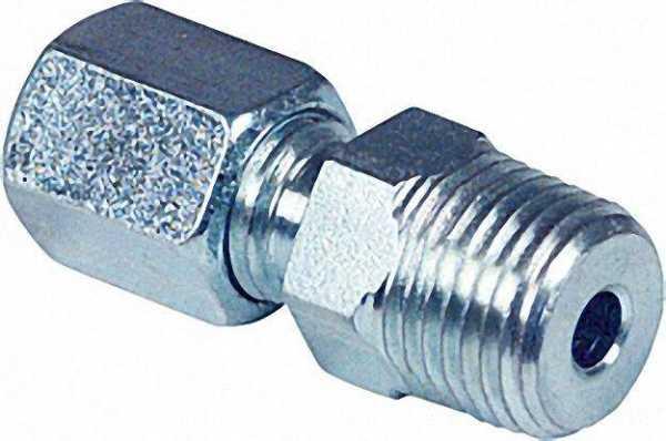Schneidring - Verschraubung GEV 6mm x R 1/8'' NPT
