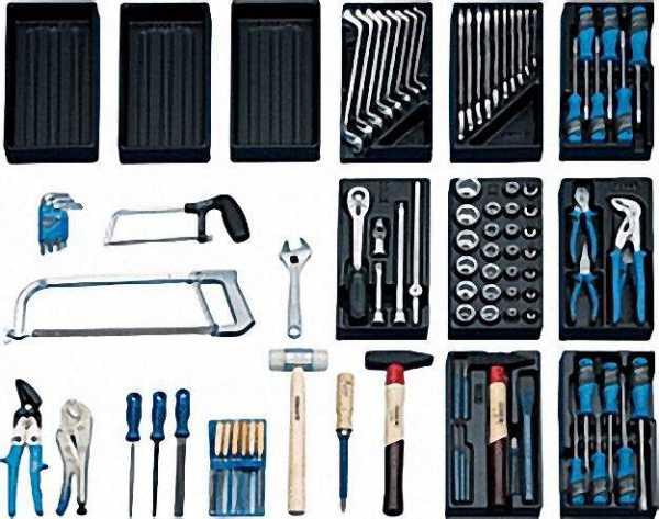 GEDORE Universal Werkzeugsortiment 100-teilig, S 1400 GM