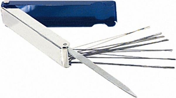 Düsenreinigungsnadeln, mit Feile für Düsen 0, 5-1,2mm