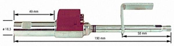 Ölvorwärmer für Hansa/Convair Ölbrenner HVS 3/ HVS 5 für 120mm Flammrohr