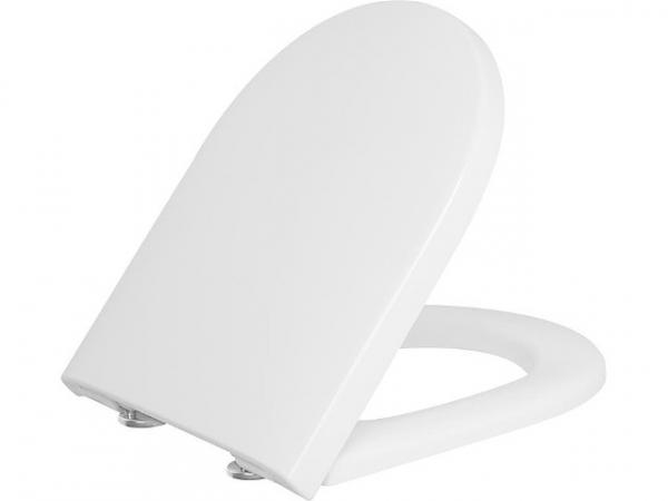 WC-Sitz Elio Edelstahlsteckscharnier, Softclose mit Take off Funktion