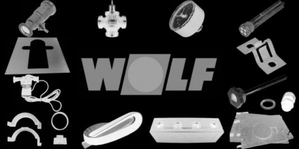 WOLF 8885084 Abdeckblech Brennkammerrückwand