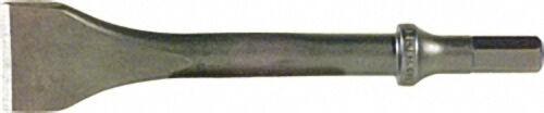 Flachmeissel (10,2 mm Sechskantschaft) Breite 20 mm Nutzlänge 150 mm für Druckluft-Meisselhammer