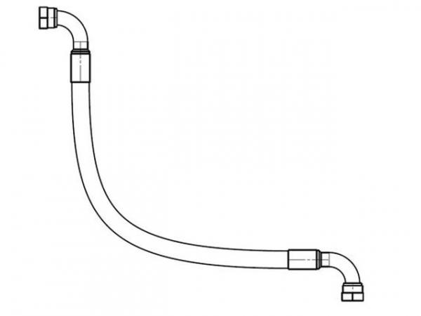 WOLF 2484777 Schlauch Öltauscher - Abgasrückkühler GTK-4