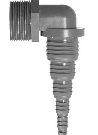 "Pumpenwinkel DN 32 (1 1/4"") AG x 32-8 mm"