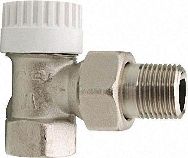 Thermostatventil-Unterteil Typ Thermostar 1/2'' Eck