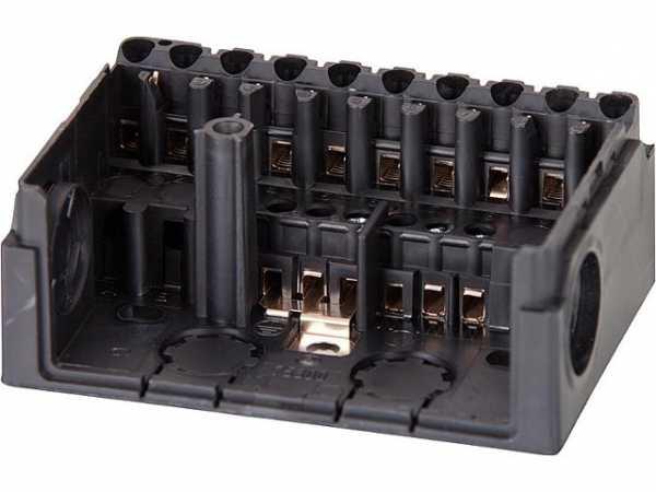 HONEYWELL Sockel Satronic S98-9polig für TF/Tfür ohne PG Platte