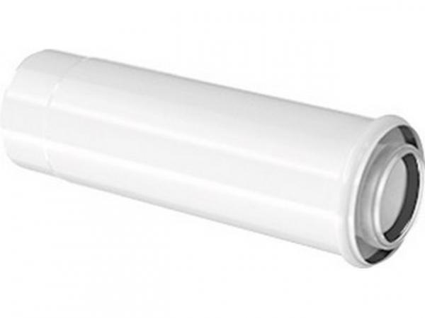 Buderus Konzentrisches Schiebestück zur Montagehilfe, Ø 80/125 mm, 100–250 mm, 7738112729