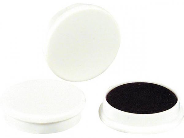 Organisationsmagnete Größe 30x8mm Farbe weiß, 1 Stück