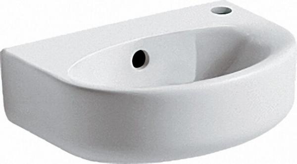 Handwaschbecken Arc Connect BxTxH= 350x260x155mm mit Ideal Plus Beschichtung