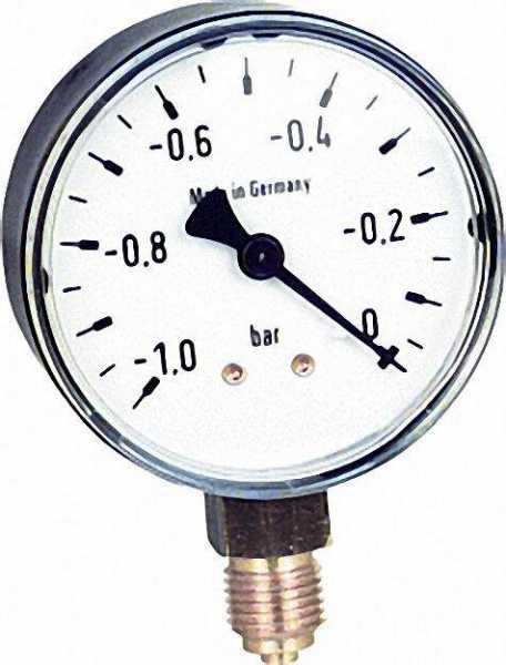 Manometer 0-6bar 63mm für G1/4