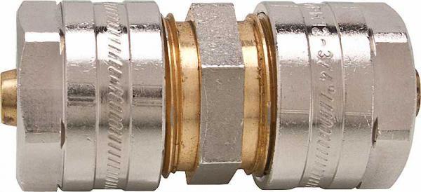 Verbindungskupplung 12 x 1,3 mm, für Wandheizung, 1 Stück