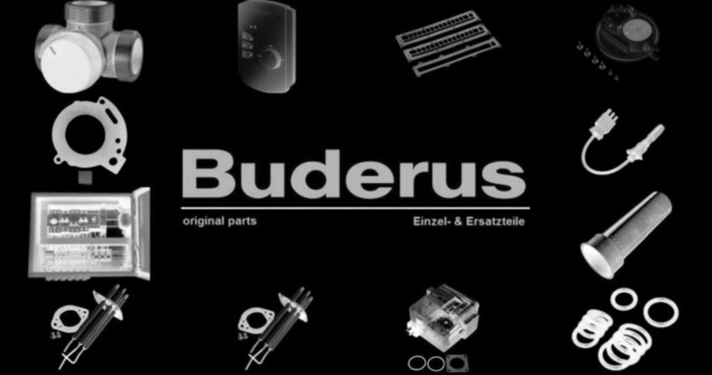 Buderus 5584718 Kugelhahn RP1 1/4 m Rückschlagventil