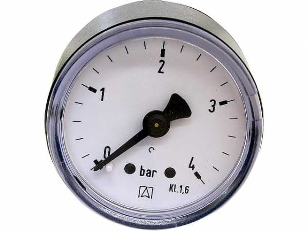 Manometer 0-2,5 bar 40 mm für G1/8 DN 6 1/8' axial