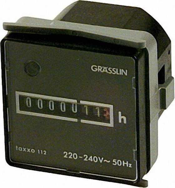 GRÄSSLIN Betriebsstundenzähler Taxxo 112 (UWZ 48 KED)