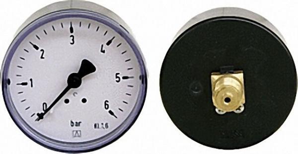 Manometer 0-0,6 bar 63mm für G1/4