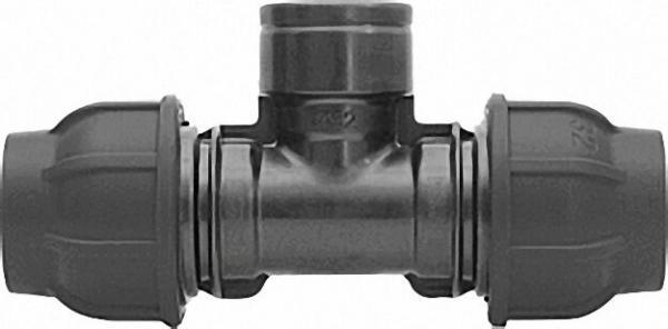 Klemmverbinder T-Stück, Überg. Typ-PTI 63 x 2'' x 63