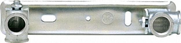 Anschlussplatten für Gaszähler AP komplettverzinkt ohne Träger 2'' / 3