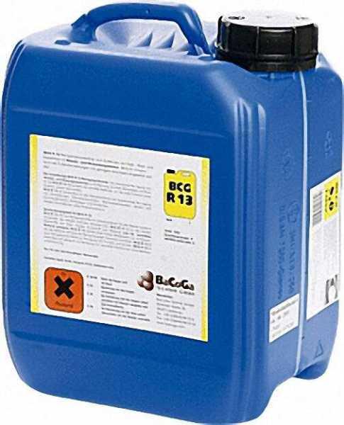 BCG Reinigungshochkonzentrat -R 13 Kanister = 5 Liter