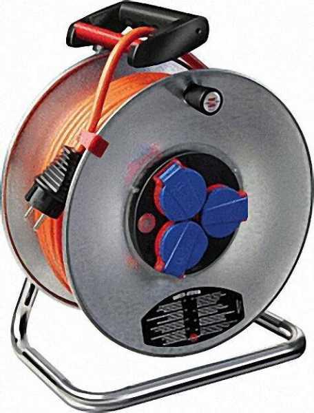 Kabeltrommel Typ Garant S IP44 Kabellänge=40m Farbe Schwarz D=290mm