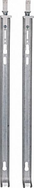 Wandkonsolen-Set für Bauhöhe 600mm - mit Schraub. +Dübel, 2xKon- sole, 2xDüb. 10mm, 2xSchraub. 8x70m