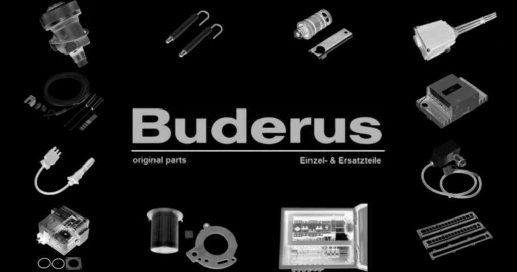 Buderus 87161163180 Armatur