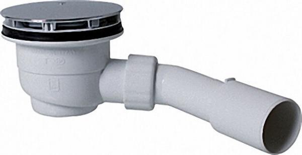 Brausewannen-Ablauf mit Ablaufrohr 50/40 Ablaufloch 90mm