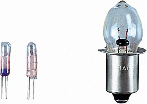 Glühlampe für 3 C-/D-Cell, Wh/Star 2er Pack