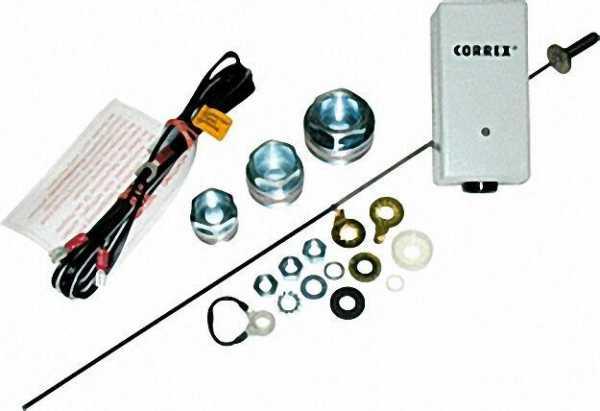 Fremdstrom-Set Correx-MP inklusive 1x Potenziostat und 1x Anode für Edelstahlspeicher bis 200l