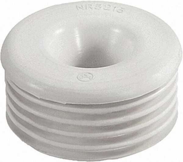 Gummi-Spülrohrverbinder für Euro-WC 1/2'' Druckspülrohr 20mm, Anschluss 55-58mm/ ohne Rosette
