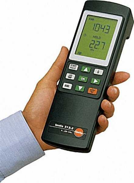 TESTO 0632 0313 /312-2 Druckmessgerät bis 40/200 hPa