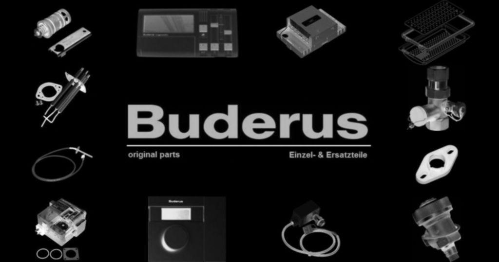 Buderus 87186645470 Sicherungsautomat 10A 1P+N