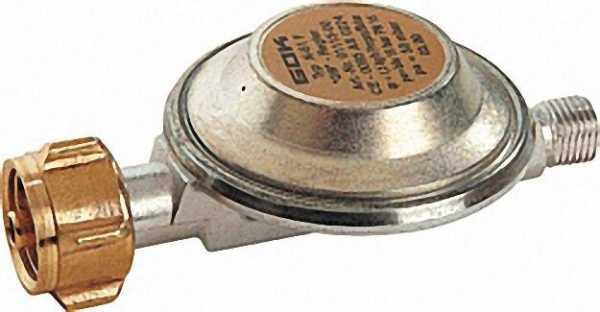 Niederdruckregler für Flüssiggasflaschen KLF R1/4'' 1, 5kg/h 30mbar