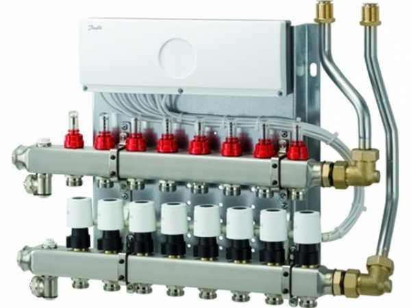 WOLF Heizkreisverteiler mit Regler CUC 11 Heizkreise, UF-Control 230V