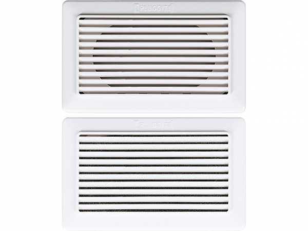 Funktions-Auslass-Set 144'x15,5x88,5mm VPE: 2xAuslass, 1x Bulprenfilter