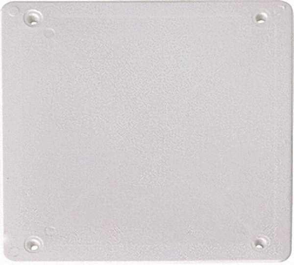 Ersatzdeckel Verbindungskasten 80 x 80mm weiß / 1 Stück