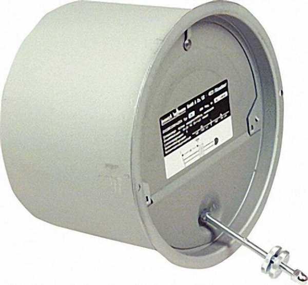 Zugbegrenzer Z 6 mit Kaminhülse 154mm durch ZKH 6001