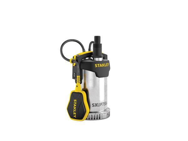 Stanley Klarwasser Tauchpumpe Edelstahl SXUP750XCE 750W|11000 l/h