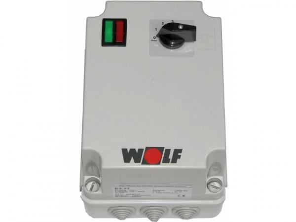 Wolf 3-Stufenschalter E 3-7T Motorvollschutzschalter 7A, 230 V