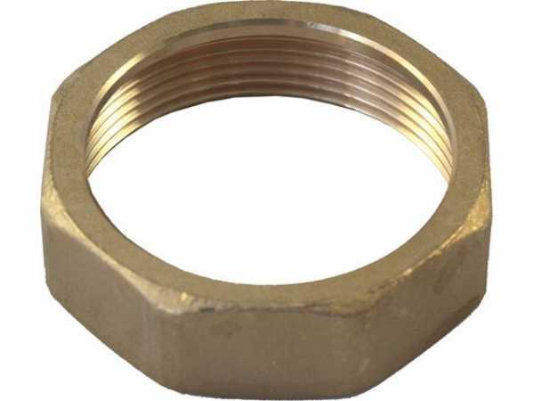 WOLF 2070209 Überwurfmutter 2'x19mm Messing