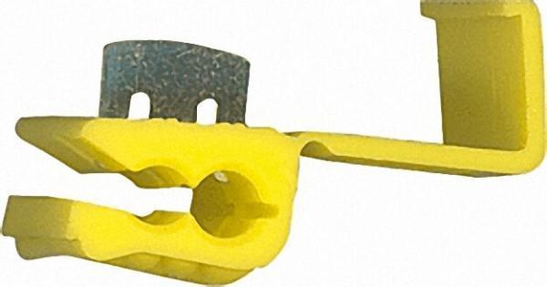 Kabelabzweigklemmen Farbe gelb, 5,5mm² VPE = 50 Stück