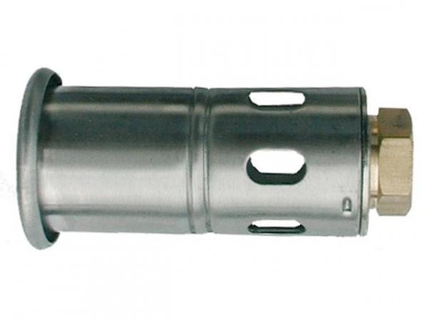 Brennerkopf aus Edelstahl M 20x1i / Dm 60mm