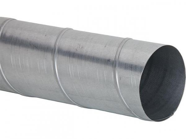 Wickelfalzrohr Materialstärke 0,6mm, verzinkt gemäß DIN 24145