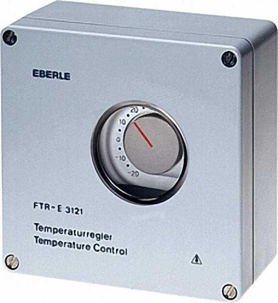 EBERLE Frostwächter elektromechanisch Typ FTR-E 3121 -20 . . . 35°C