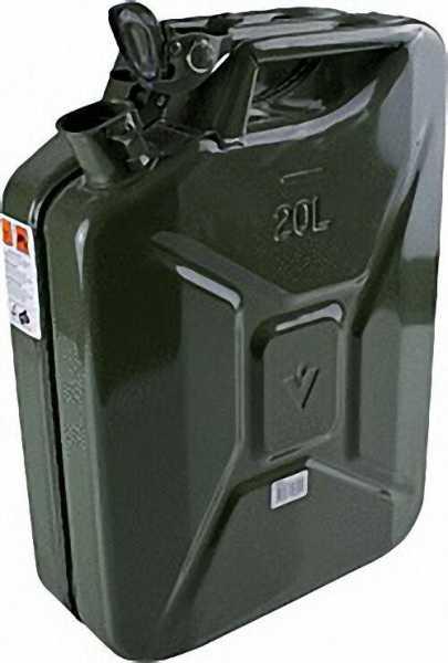 BW Kanister 20 Liter Stahlblech