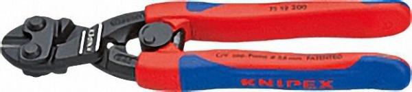 KNIPEX -CoBolt Kompakt-Bolzenschneider Kunststoff überzogen atramentiert Länge 200mm Öffnungsfeder B