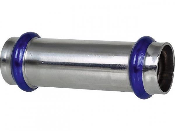 Edelstahl Pressfitting V-Kontur Schiebemuffe 42mm